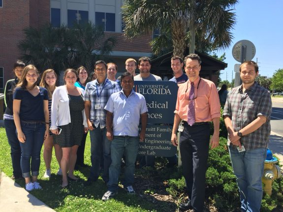 Members of the Doré Lab outside BMS